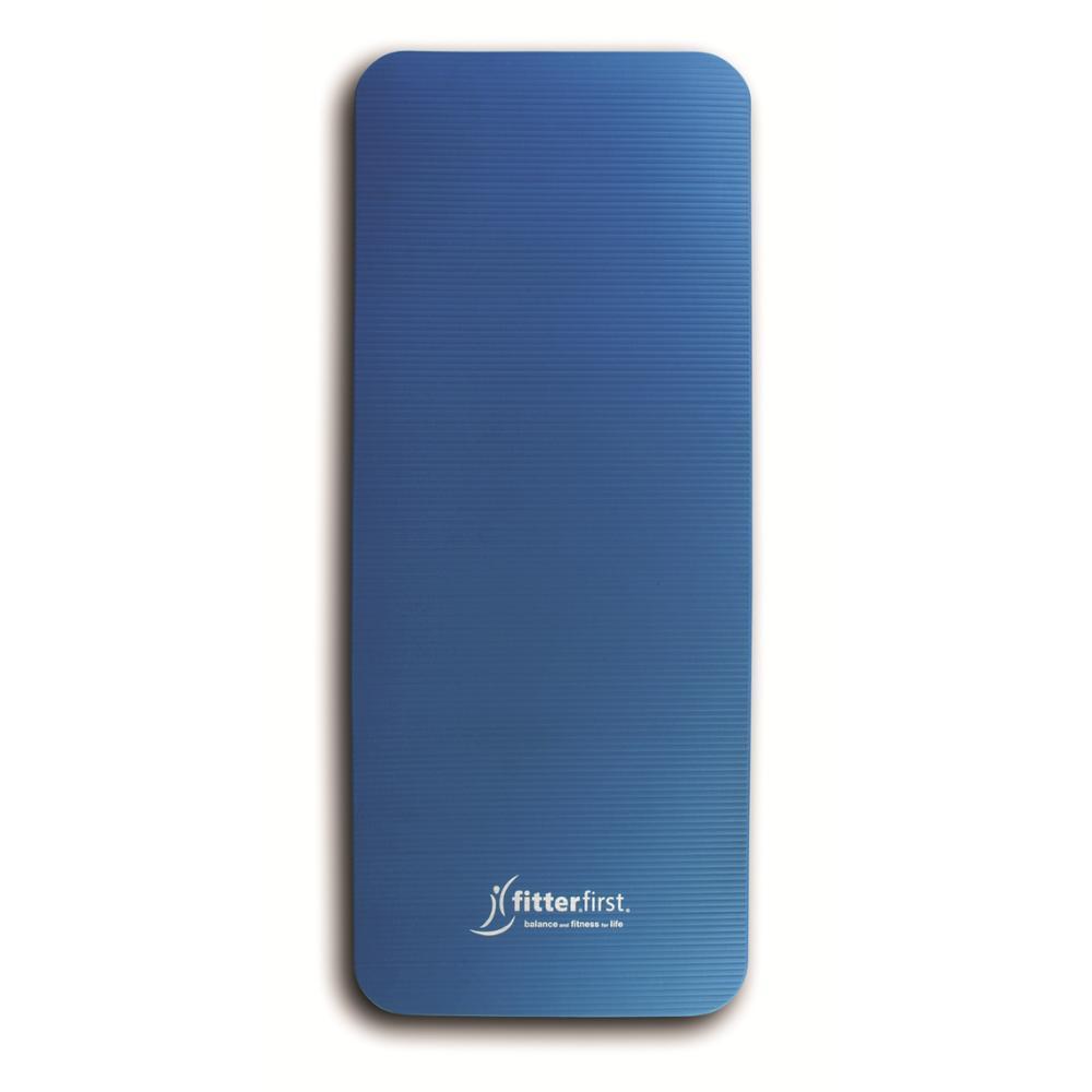 Jumppamatto Fitter Blue Fitterfirst Mat, Long