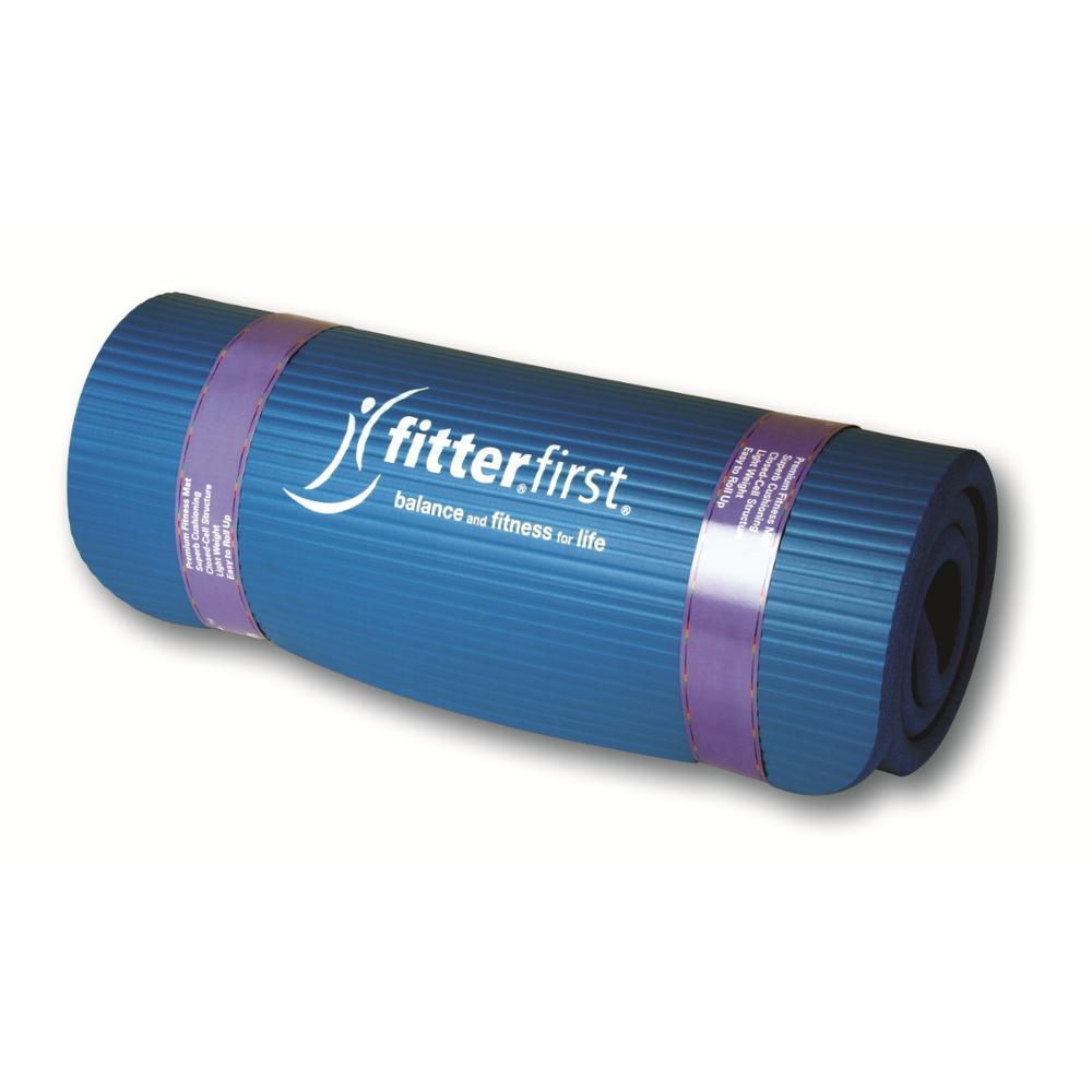 Jumppamatto Fitter Blue Fitterfirst Mat, Med