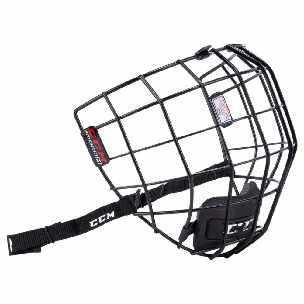 CCM 680 Facemask Musta Ristikko