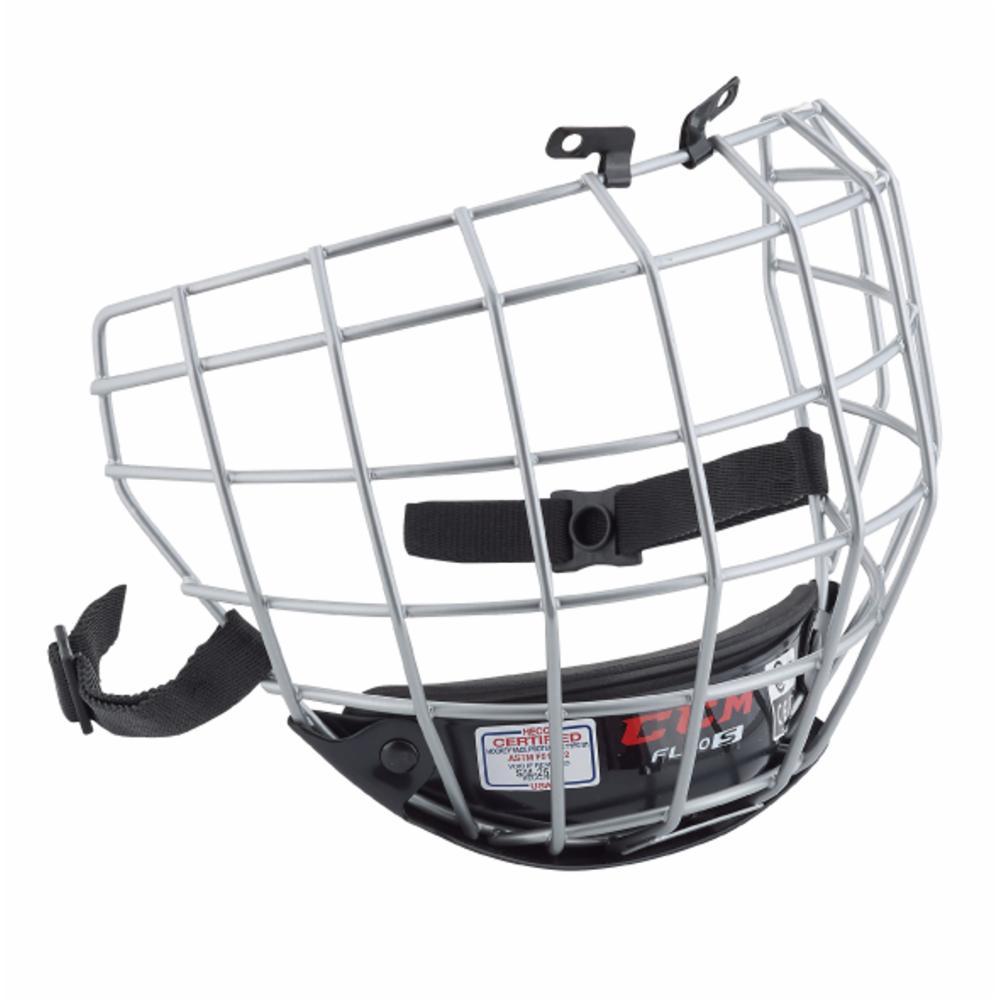 CCM FL40 Facemask Ristikko Silver