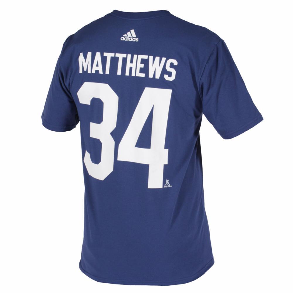 Adidas NHL Silver Tee T-paita, Matthews, XL