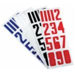 Bauer Helmet Numbers Kypäränumero, Musta