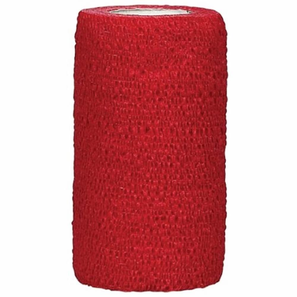 Tarttuva tukiside, 10 cm, Punainen